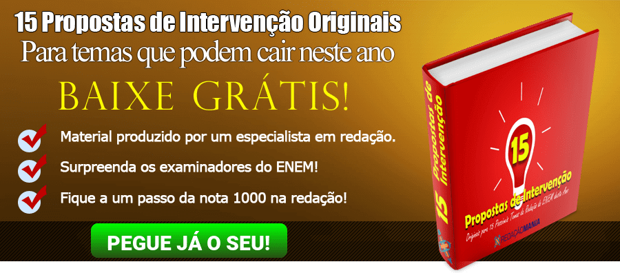 Ebook Propostas de Intervenção Originais